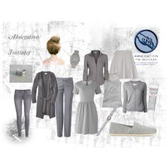 """""""Abnegation Initiates"""" by lena-beana on Polyvore"""