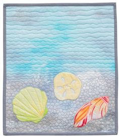 Seashell quilt, in: Back-Basting Applique by Barbara J. Eikmeier