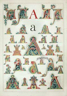 A Master's Illuminated Alphabet - Tartuffe's Folly