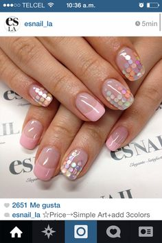 I am unfolding simple spring nail art designs, ideas and trends of 2014 for learners. You can make polka dots with various slants to give a rainbow touch to your nails. Es Nails, Love Nails, Pretty Nails, Hair And Nails, Gorgeous Nails, Nail Designs 2015, Cute Nail Designs, Spring Nail Art, Spring Nails
