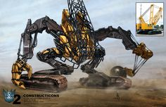 A concept art of a Constructicon, who is later used as Hightower. Description from misc.thefullwiki.org. I searched for this on bing.com/images