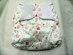 Baby Wizard Lucky Cats pocket cloth diaper
