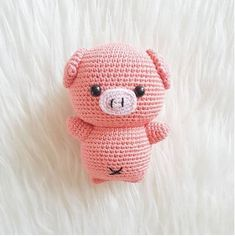 Mesmerizing Crochet an Amigurumi Rabbit Ideas. Lovely Crochet an Amigurumi Rabbit Ideas. Marque-pages Au Crochet, Crochet Mignon, Crochet Patterns Amigurumi, Cute Crochet, Amigurumi Doll, Crochet Crafts, Crochet Dolls, Crochet Projects, Crochet Rabbit