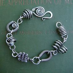 wirework bracelet. mixed designs