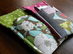 Easy Camera/Cell Phone/iPod Pouch, I wish I had a sewing machine for when I ran into cute projects like this.