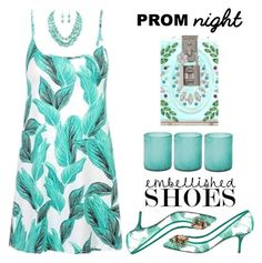 """""""Embellished Shoes//Prom Night"""" by shoaleh-nia ❤ liked on Polyvore featuring Dolce&Gabbana and Jamie Young"""