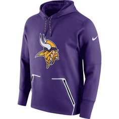 05b3498c3 Be bold and cheer on the Minnesota Vikings with this cozy purple pullover  hoodie. Patriots