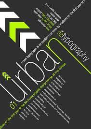Bildergebnis für modern poster layout