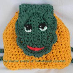 €36. Crochet Backpack. Ready to ship.                              https://www.facebook.com/TheEntireWorldofHandmadeCrochet/