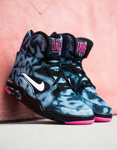 Nike Air Command Force: Acid Wash Denim