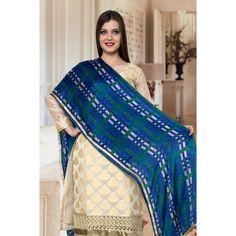Designer Chanderi Jaquard Suit