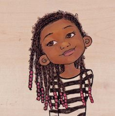 theblackamericanprincess:  I love that her braids are a lil fuzzy :)