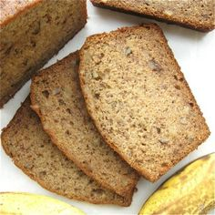 Heavenly Healthy Banana Bread by King Arthur Flour. Who doesn't love banana bread? This moist, tender, richly flavored loaf features whole wheat flour, making this a super (and tasty!) way to increase your family's intake of healthy fiber.