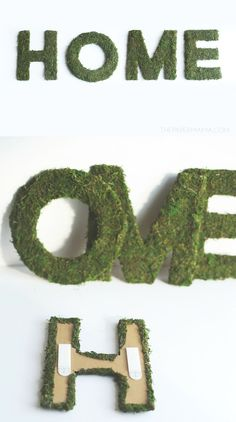 Are you ready for spring? This mossy home decor is an inexpensive and lovely way to add some green and life to your home.