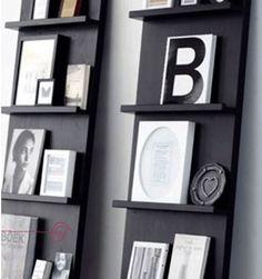 Leuk boeken/tijdschriftenrek om natuurlijk zelf te maken!