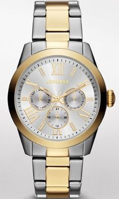 MULTI-FUNCTION BRACELET WATCH - MIXED METAL from EXPRESS