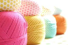 pastels yarns