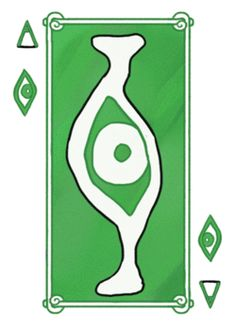 Another example of the animated playing cards design