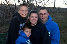 Hodgkin Lymphoma Steve Arquitte with Family