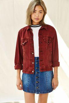 Urban Renewal Recycled Rust Denim Jacket