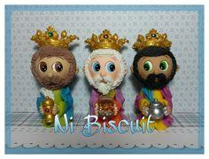 Os Reis #MeuPresepio #NiBiscuit