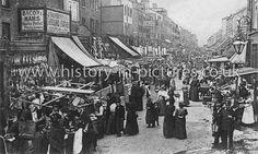 Chapel  Street, Islington, London, c.1904.