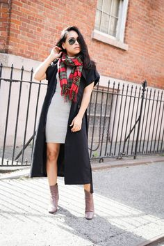 Mini dress and a Jacket on NYTrendyMoms.com