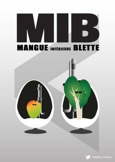MIB : Mangue Inférieur à Blette #UnLegumeDansUnFilm #Florette #Veggister