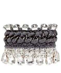 Venessa Arizaga Grey Twinkle Twinkle Bracelet | Jewellery by Venessa Arizaga | Liberty.co.uk