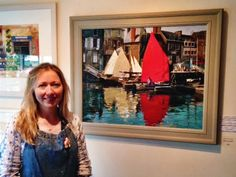 Interview with artist Haidee-Jo Summers at Patchings Art Festival 2014 | Watercolour Journey by Ian McKendrick