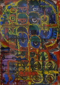 Ion Tuculescu Paintings, Art, Paint, Art Background, Painting Art, Kunst, Painting, Gcse Art, Drawings