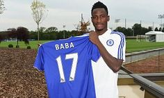 BABA RAHMAN reveals he is 'happy' to be at Chelsea as £21.7m signing is unveiled...