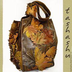 """Купить Арт - сумка """"Нескучный Сад"""". - арт - сумка, необычная сумка, оригинальная сумка"""