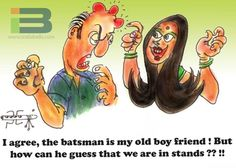 Batsman Cartoon
