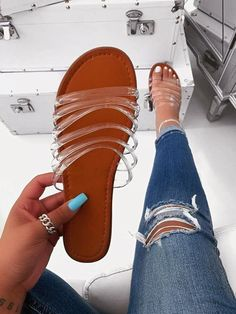 Our latest Collection of women's High Heel sandals and shoes. We have of styles from wedge heel, stiletto heel, platform shoes, and more. Shoes Flats Sandals, Cute Sandals, Cute Shoes, Me Too Shoes, Women's Shoes, Trendy Sandals, Women Sandals, Shoes Style, Platform Shoes