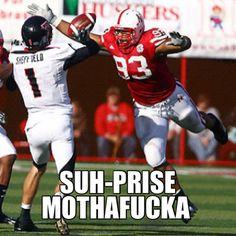 Nebraska pride! #huskers