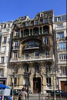 Jules Lavirotte 's 29 Avenue Rapp – Paris, France | Atlas Obscura