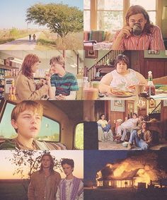 What's Eating Gilbert Grape? OHMYPATRONUS I JUST REALIZED THATS LEO DICAPRIO AMS JHONNY DEPP AND