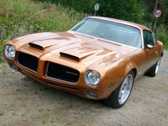 1972 Formula 455 Pontiac Firebird. Most powerful production car since the 454 Corvette.