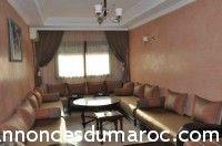 Location Appartement meublée sur marrakech
