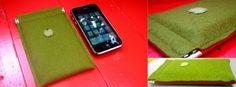 Felt cell phone cases