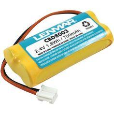 Lenmar CBD8003 2.4V 750mAh NiMH Replacement Battery for V-Tech 8003 cordless phone battery by Lenmar. $7.56. Lenmar Replacement for V-Tech 8003 cordless phone battery, 2.4V 700mAh NiMH