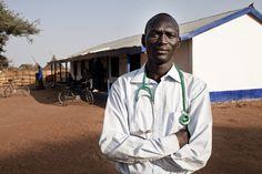 An AMREF doctor in South Sudan