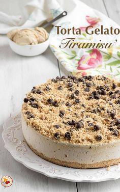 Cold Desserts, Ice Cream Desserts, Delicious Desserts, Yummy Food, Gelato Flavors, Gelato Recipe, Bakery Recipes, Dessert Recipes, Gelato Cake