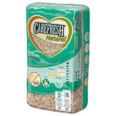 Carefresh Natural - Mix 1 part paper based bedding with 2 parts aspen: aspen holds tunnels, paper ads absorbency.