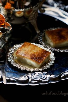 {A Turkish style milk pudding}EDIT – I made some mistakes in the measurement section of the recipe. It's been updated now! Sorry for this, guys! I found myself craving for milk pudding … Turkish Recipes, Greek Recipes, Delicious Desserts, Dessert Recipes, Gourmet Desserts, Plated Desserts, A Food, Food And Drink, Middle Eastern Recipes