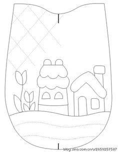 Embroidery patches tutorial quilt blocks 58 ideas for 2019 Japanese Patchwork, Patchwork Bags, Quilted Bag, Applique Templates, Applique Patterns, Applique Quilts, Embroidery Patches, Embroidery Applique, Wool Applique