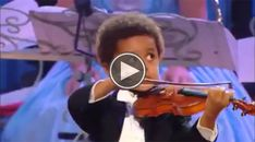 Watch This Gifted 4-Year-Old Black Violinist Wow the Crowd With His Talent - Atlanta Blackstar