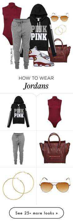 """""""Airport chic"""" by mzchacha on Polyvore featuring CÉLINE, Diesel, Melissa Odabash, Retrò and Steve Madden"""