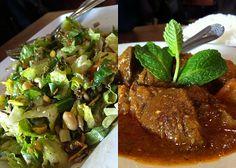 Burma Superstar in San Francisco... tea leaf salad I daydream about.